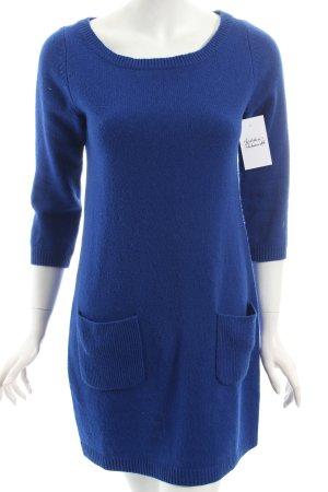 Hallhuber Strickkleid blau minimalistischer Stil