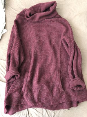 Hallhuber Oversized Sweater bordeaux