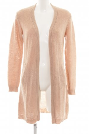 Hallhuber Knitted Coat nude casual look
