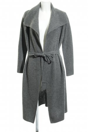Hallhuber Knitted Coat grey classic style