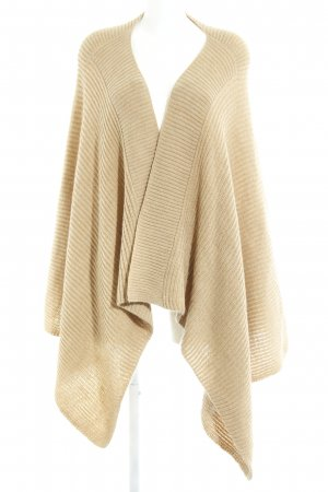 Hallhuber Knitted Poncho camel casual look