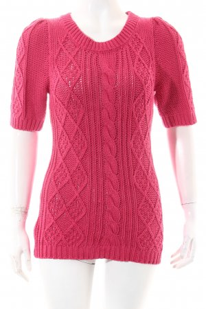 Hallhuber Strickpullover pink Casual-Look