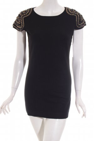 Hallhuber Strickshirt schwarz klassischer Stil