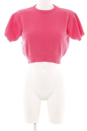 Hallhuber Stricktop pink Casual-Look