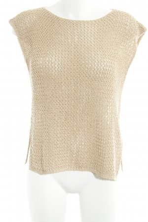 Hallhuber Knitted Top camel casual look