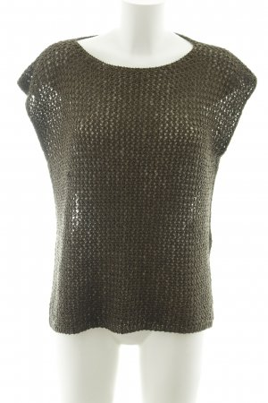 Hallhuber Knitted Top green grey casual look