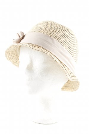 Hallhuber Cappello di paglia multicolore Dettaglio nastro
