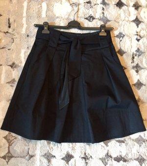 Hallhuber Plaid Skirt black