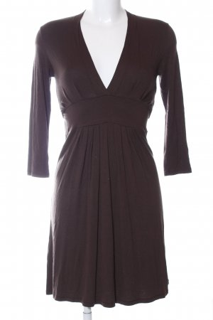 Hallhuber Sweat Dress brown casual look