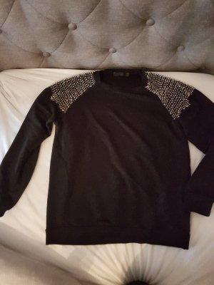Hallhuber  Sweatshirt  Pullover mit Nieten 38 Jacke