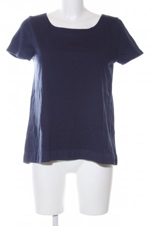 Hallhuber T-Shirt blau Casual-Look