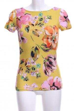 Hallhuber T-Shirt Blumenmuster Business-Look