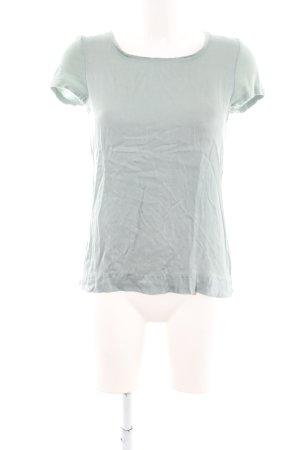 Hallhuber T-Shirt hellgrau Casual-Look