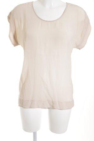 Hallhuber T-Shirt altrosa schlichter Stil
