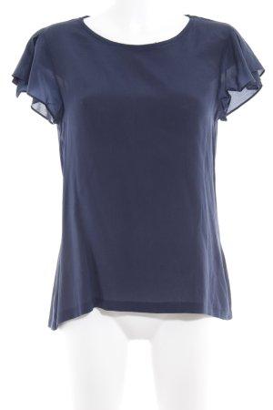 Hallhuber T-Shirt dunkelblau Elegant