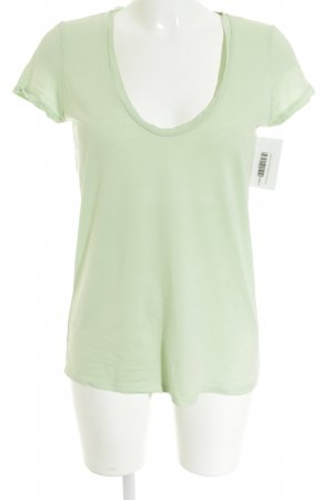 Hallhuber T-Shirt lime-green casual look