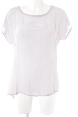 Hallhuber T-Shirt helllila Casual-Look