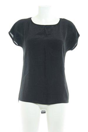 Hallhuber T-shirt noir style décontracté