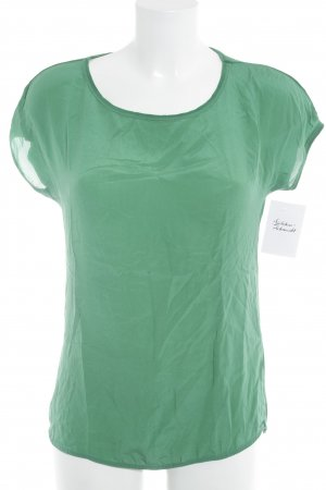 Hallhuber T-Shirt waldgrün Casual-Look