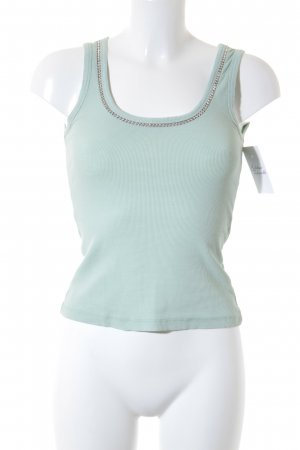 Hallhuber Tanktop mint Street-Fashion-Look