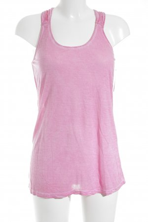 Hallhuber Tank Top pink athletic style