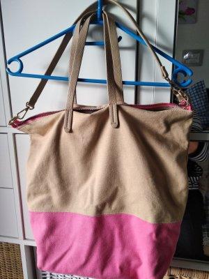 Hallhuber Handbag beige-pink