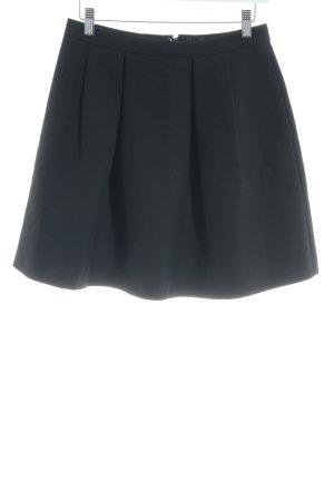 Hallhuber Tellerrock schwarz Elegant