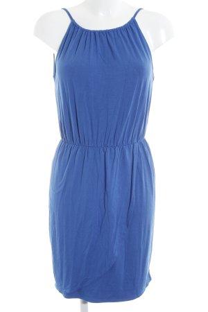 Hallhuber Trägerkleid blau Beach-Look