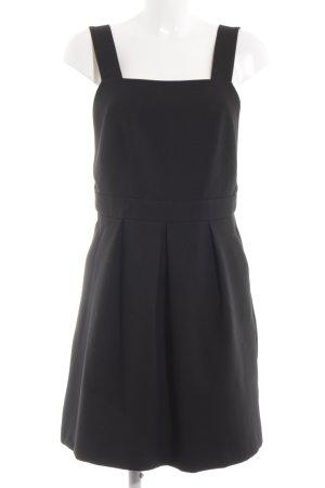 Hallhuber Trägerkleid schwarz klassischer Stil