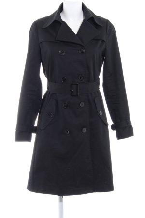 Hallhuber Trenchcoat noir style anglais