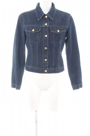 Hallhuber trend Jeansjacke blau Casual-Look