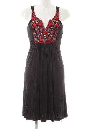 Hallhuber trend Jerseykleid mehrfarbig Casual-Look