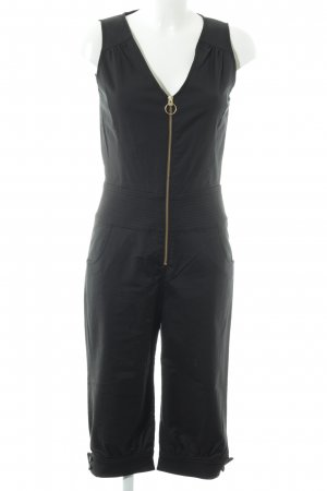 Hallhuber trend Jumpsuit schwarz Business-Look