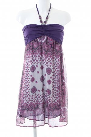 Hallhuber trend Halter Dress abstract pattern casual look