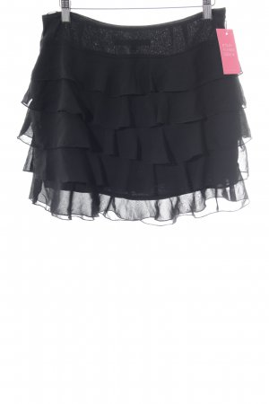 Hallhuber trend Broomstick Skirt black casual look