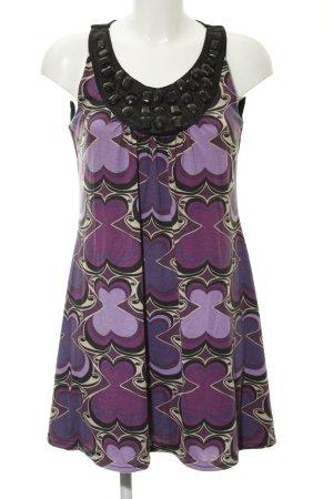 Hallhuber trend Trägerkleid abstraktes Muster extravaganter Stil