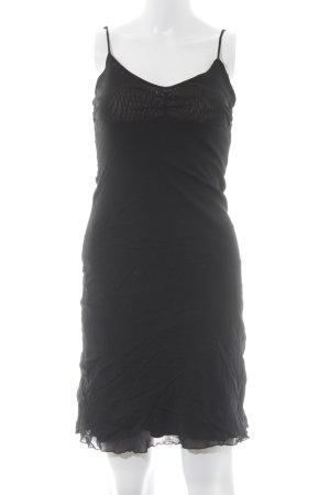 Hallhuber trend Trägerkleid schwarz schlichter Stil