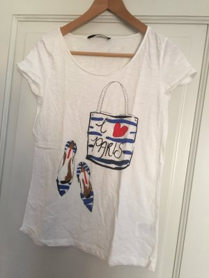 Hallhuber TShirt Shirt mit Print in Gr. S