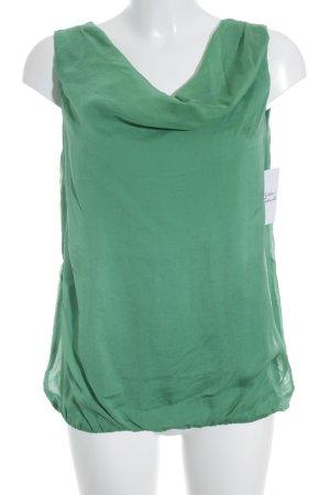 Hallhuber Tunika grün schlichter Stil