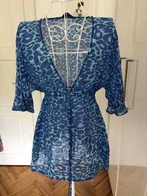 Hallhuber Tunique-blouse bleuet-bleu clair