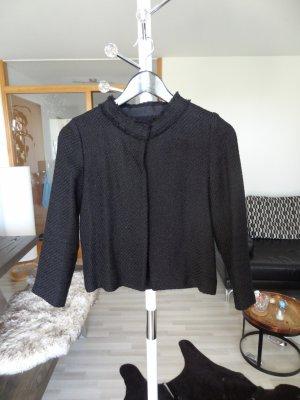HALLHUBER Tweed-Jacke, Gr. 34, schwarz, neu!!