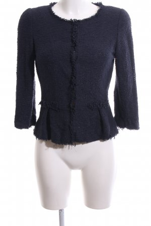 Hallhuber Tweed Blazer blue casual look