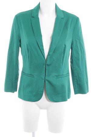 Hallhuber Tweed blazer bos Groen zakelijke stijl