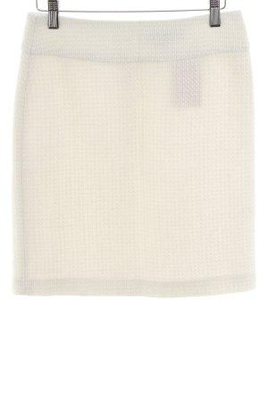 Hallhuber Jupe en tweed blanc cassé style d'affaires