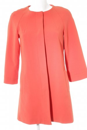 Hallhuber Between-Seasons-Coat bright red casual look