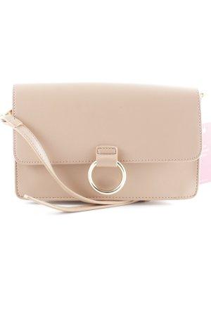 Hallhuber Borsa a spalla color oro rosa elegante