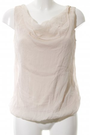 Hallhuber Cowl-Neck Top natural white casual look
