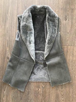 Hallhuber Weste Fake Fur / Größe 36