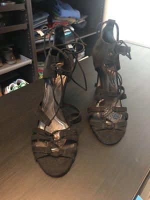 Hallhuber Wildleder Sandaletten mit Schnürung Größe 41