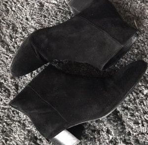 Hallhuber Wildleder Velour Boots Größe 38